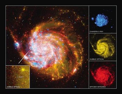 中国科学家测定X射线极亮天体黑洞质量(组图)