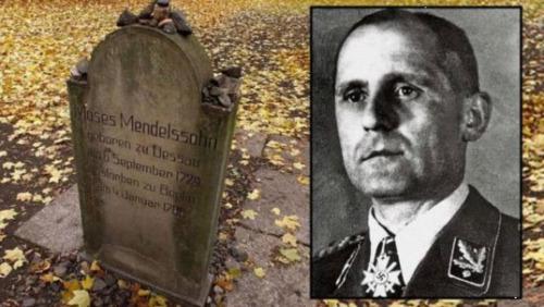 纳粹盖世太保头目被指埋葬于柏林犹太人公墓