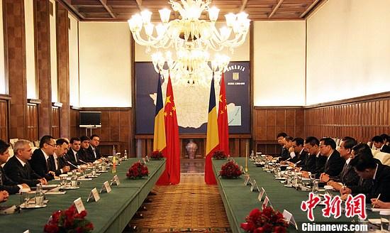 李克强晤罗马尼亚总理:要把中罗经贸合作向纵深推进