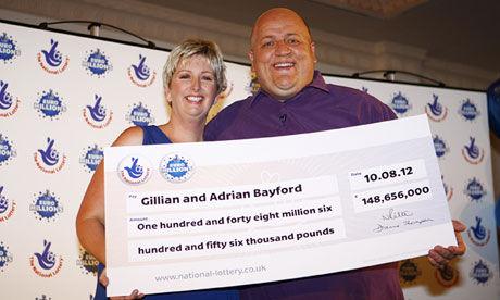 不能共富贵?夫妻赢上亿英镑彩票后婚姻破裂分居
