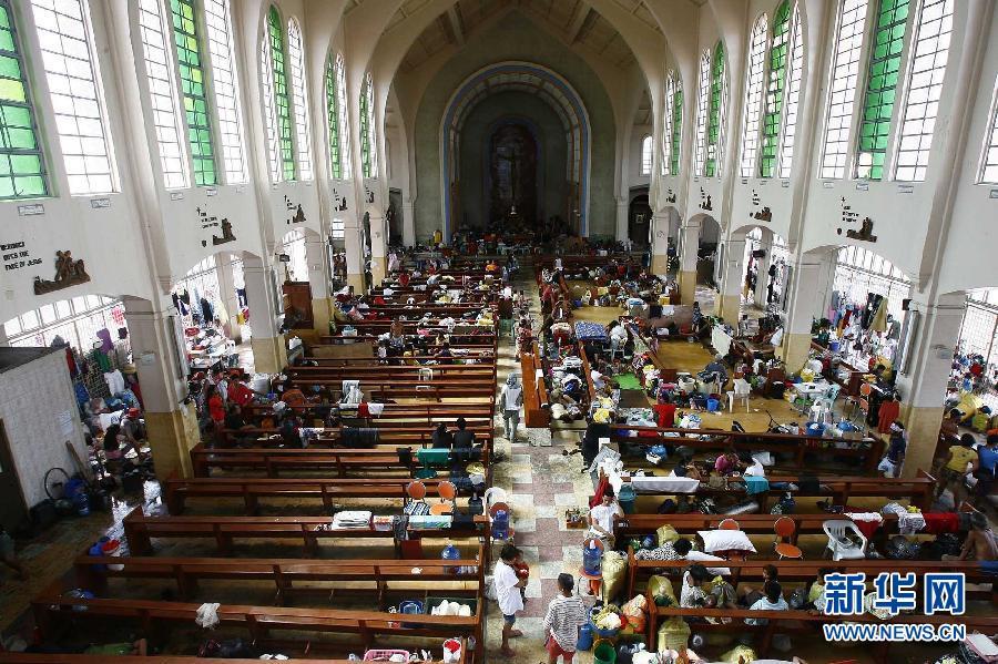 (国际)(3)菲律宾台风重灾区塔克洛班市状况