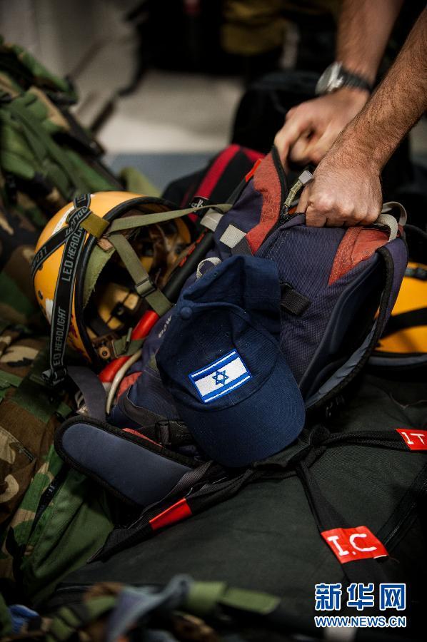 (国际)(3)以色列国防军启程前往菲律宾援助灾区