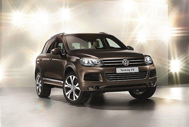 大众途锐新增4.2l v8车型 售价会大幅提升   在高端suv和越野高清图片