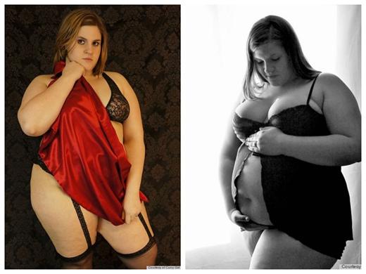 美女子发起正常女人运动曝光未修改的女性内衣照