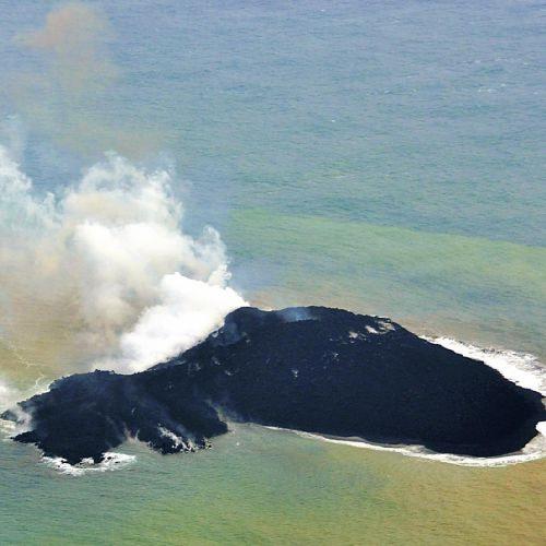日本小笠原群岛附近新火山岛屿面积向东扩1.5倍
