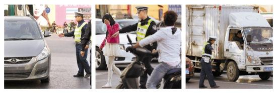 不光是开车的司机要注意了,电动自行车违法载人、违法走机动车道也都是要严查的。
