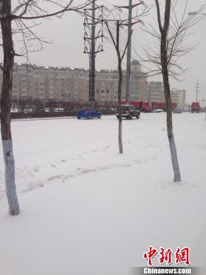 哈尔滨暴雪致主城区中小学18日停课一天(组图)