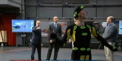 奥巴马赞好莱坞是美经济引擎戏称愿在此工作(图)