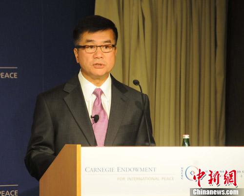 资料图:美国驻华大使骆家辉。中新社发 德永健 摄