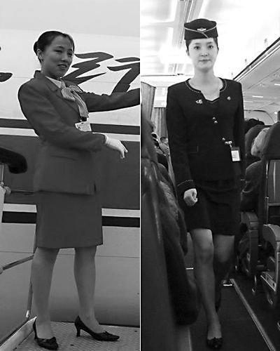 朝鲜空姐换装引赞叹 裙子比以前略短(图)