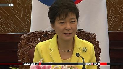 韩国总统访问欧洲称日本应向德国学习(图)