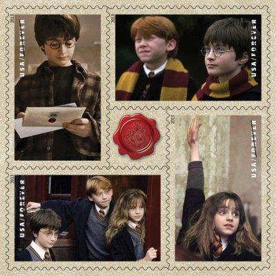 """美国哈利波特邮票挨批因""""主角是外国人""""(图)"""