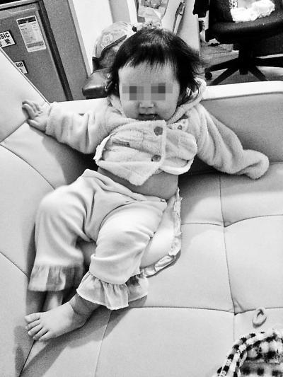 丢失的女婴供图/香港警方