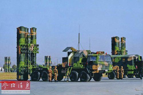"""""""红旗""""-9防空导弹(资料图片)"""