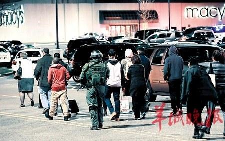 美新泽西州商场响枪声嫌犯自尽未造成其他伤亡