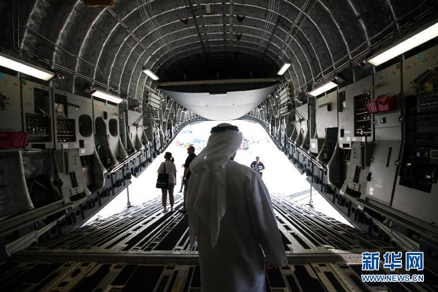 (国际)(4)第13届迪拜国际航展开幕