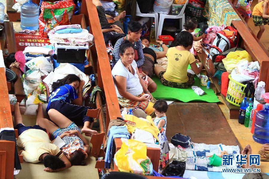 (国际)(4)菲律宾台风重灾区塔克洛班市状况
