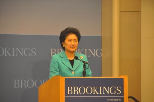 刘延东出席华盛顿大学孔子学院美国中心挂牌仪式