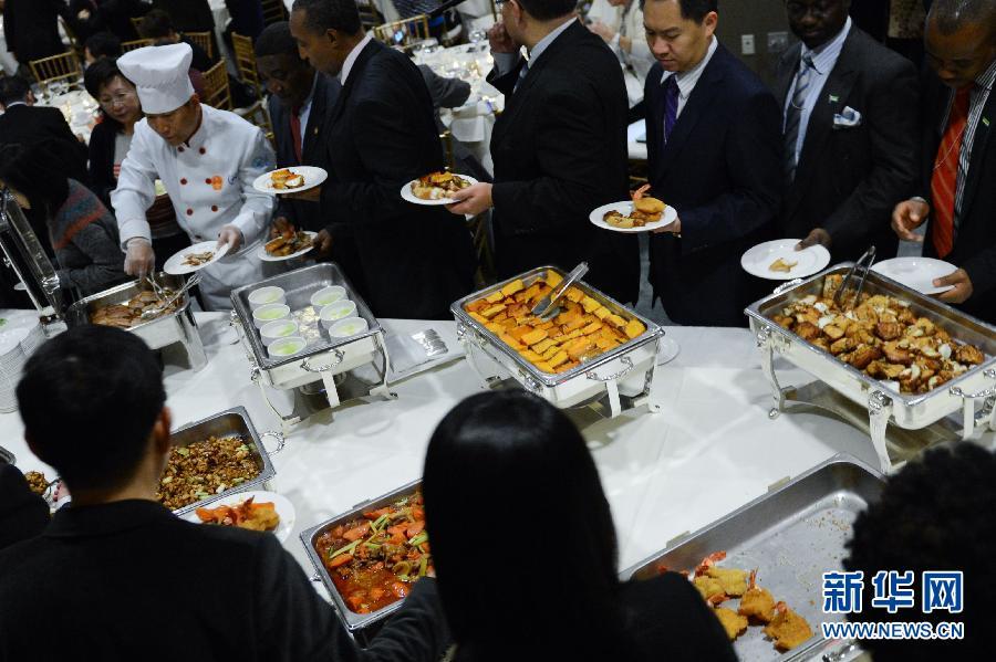 (国际)(3)中国美食走进联合国