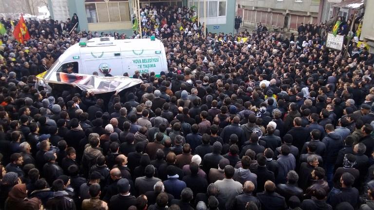 土耳其警方击毙两名库尔德示威者 引发新一轮冲突