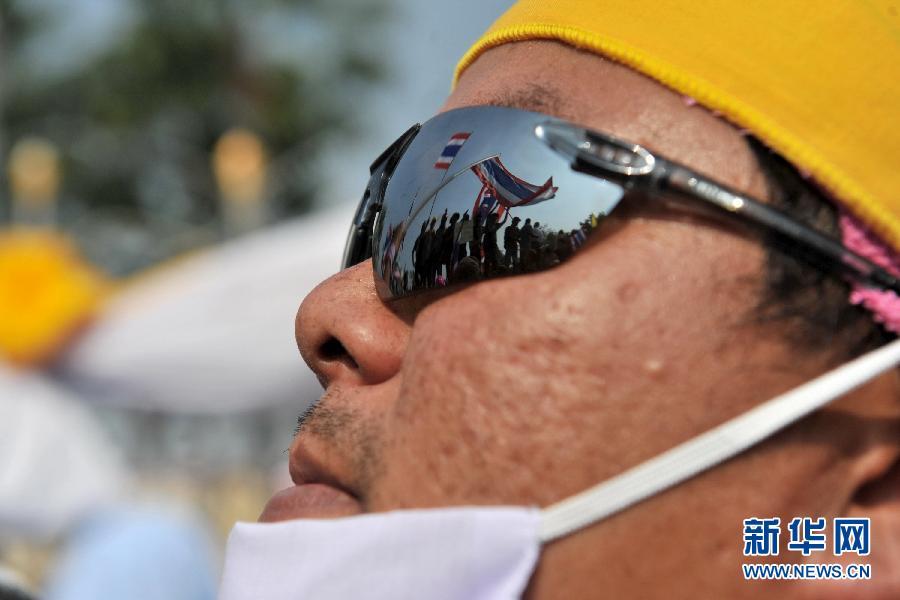 (国际)(6)泰国反政府示威者要求英拉交权