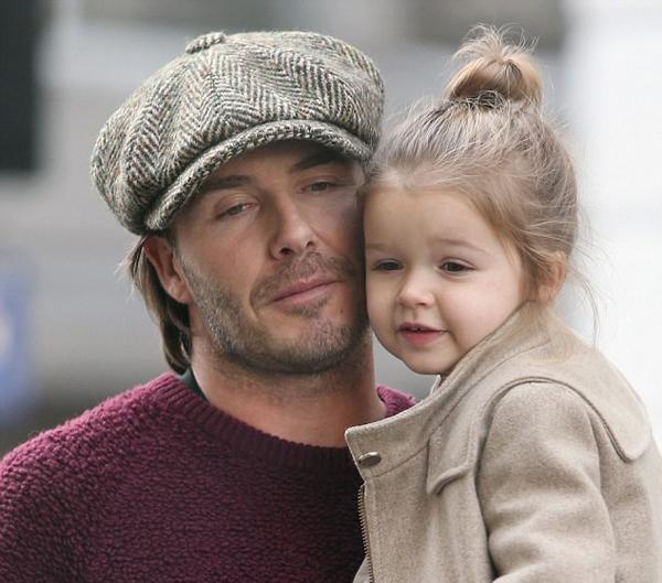 小贝和女儿