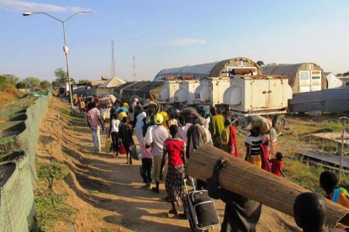 南苏丹冲突至少8万人流离失所联合国关切(图)