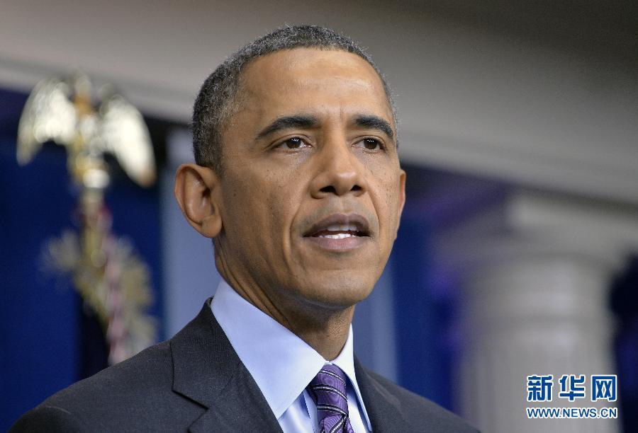 (国际)(1)奥巴马就曼德拉去世发表声明