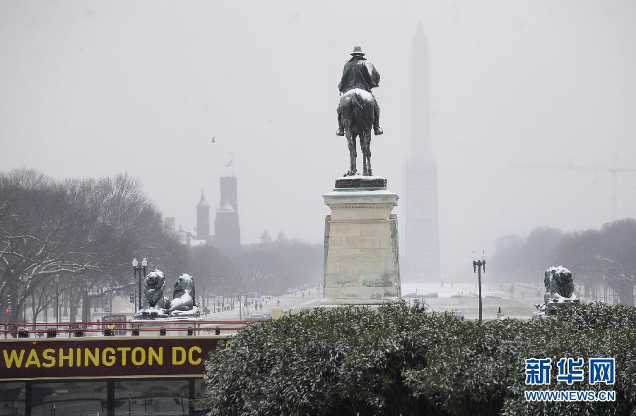 (国际)(1)华盛顿初雪