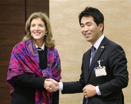 美军机日本急降士兵接受治疗美驻日大使表感谢