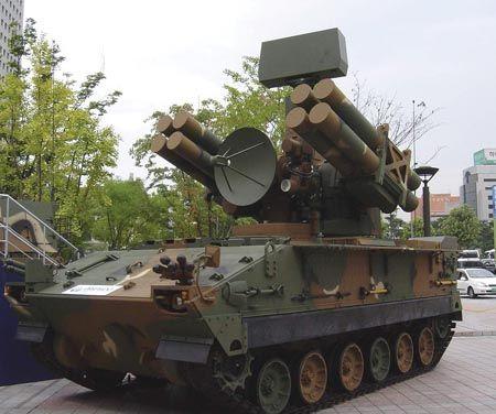 """韩国""""天马""""防空导弹"""
