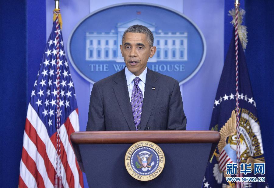 (国际)(2)奥巴马就曼德拉去世发表声明