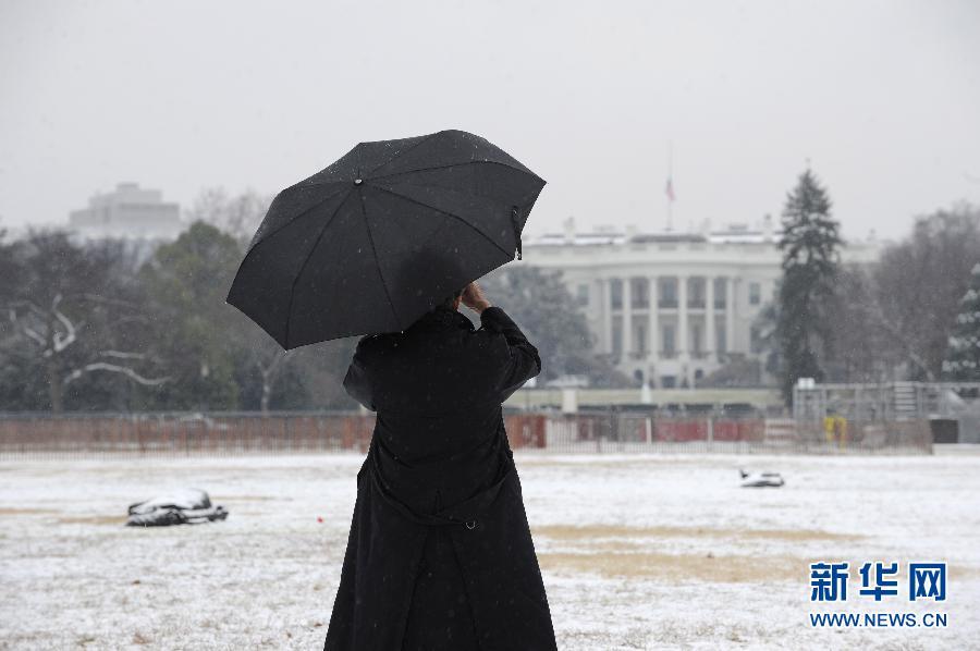 (国际)(2)华盛顿初雪