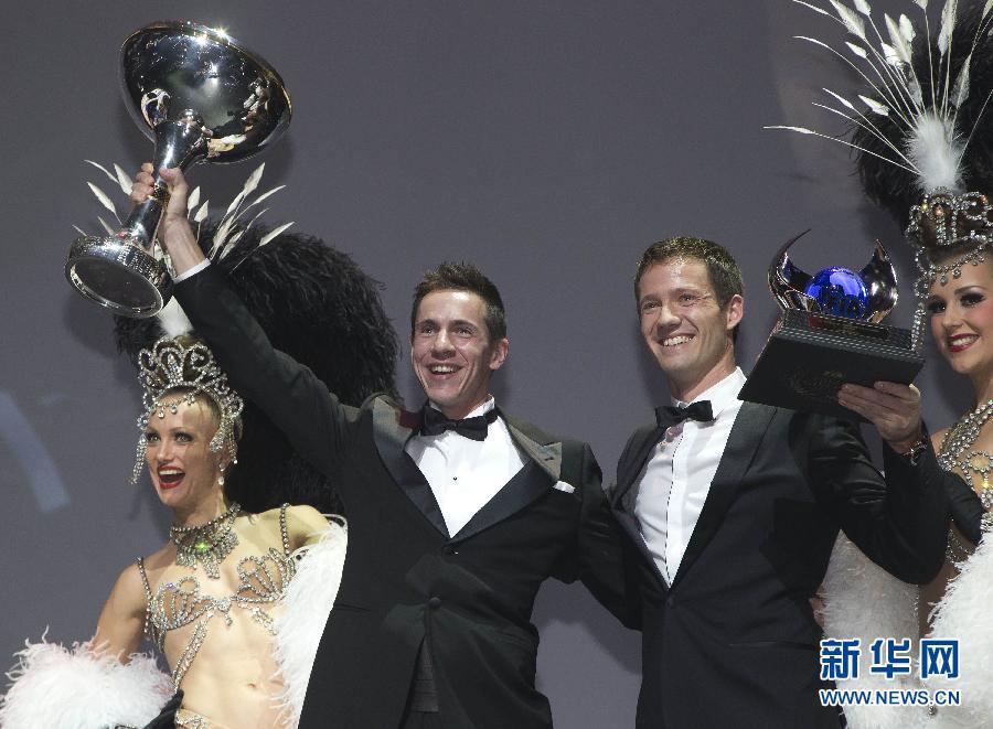 (体育)(4)赛车——国际汽联颁奖典礼在法国举行