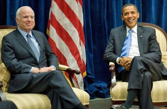 麦凯恩:奥巴马乃有才之人 切勿低估他