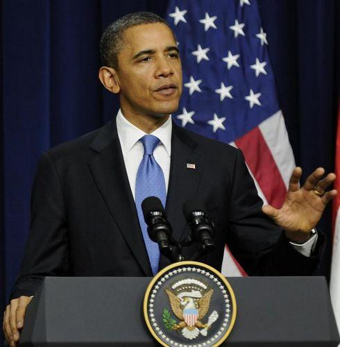 奥巴马苦恼政治僵局自嘲称希望模仿《纸牌屋》