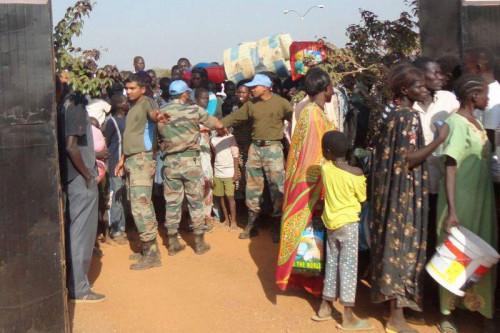 南苏丹冲突持续流离失所者人数升至12万人
