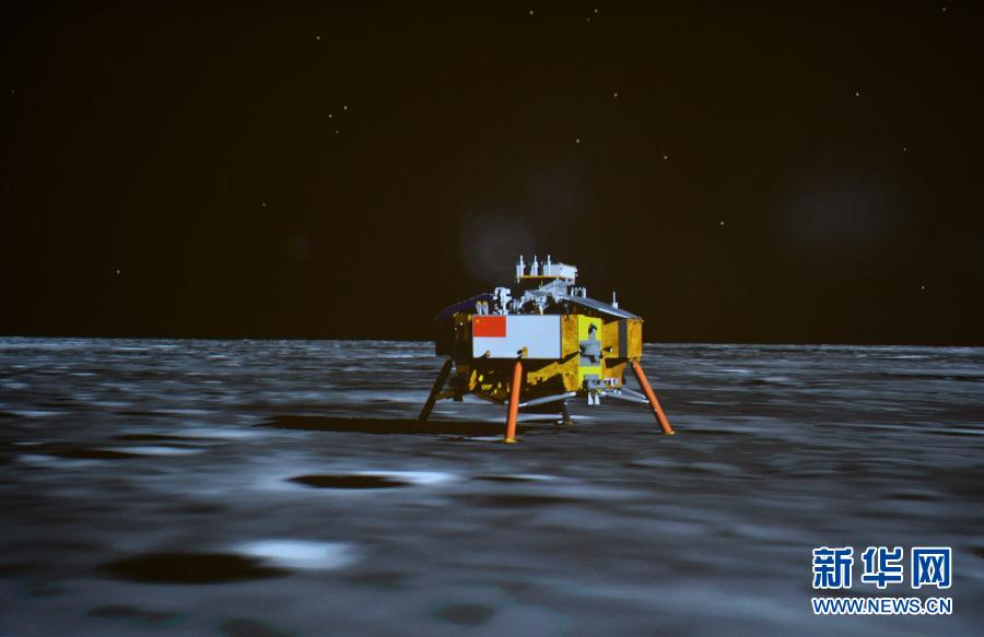 (嫦娥三号)(4)嫦娥三号平稳落月