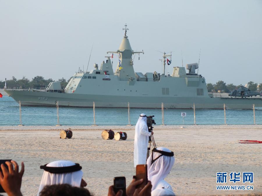 (国际)(4)阿联酋展军力庆国庆