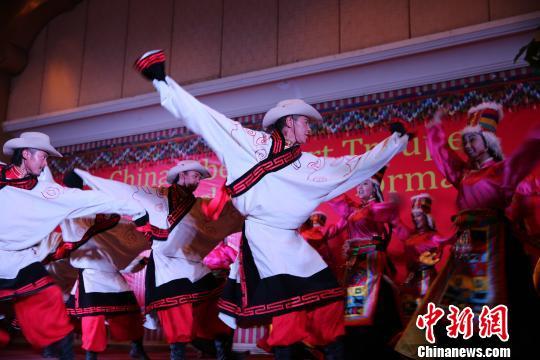 """中国西藏本土艺术""""亮相""""尼泊尔首都(图)"""