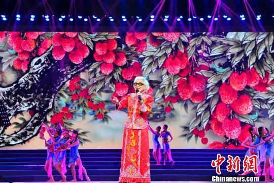 著名粤剧大师红线女病逝一曲《荔枝颂》成绝响