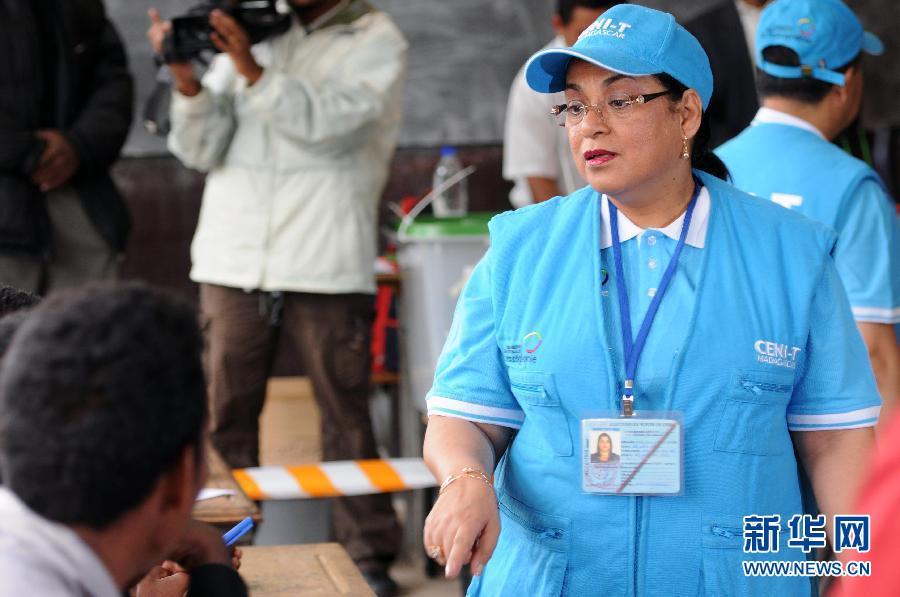 (国际)(1)马达加斯加总统选举第二轮投票开始