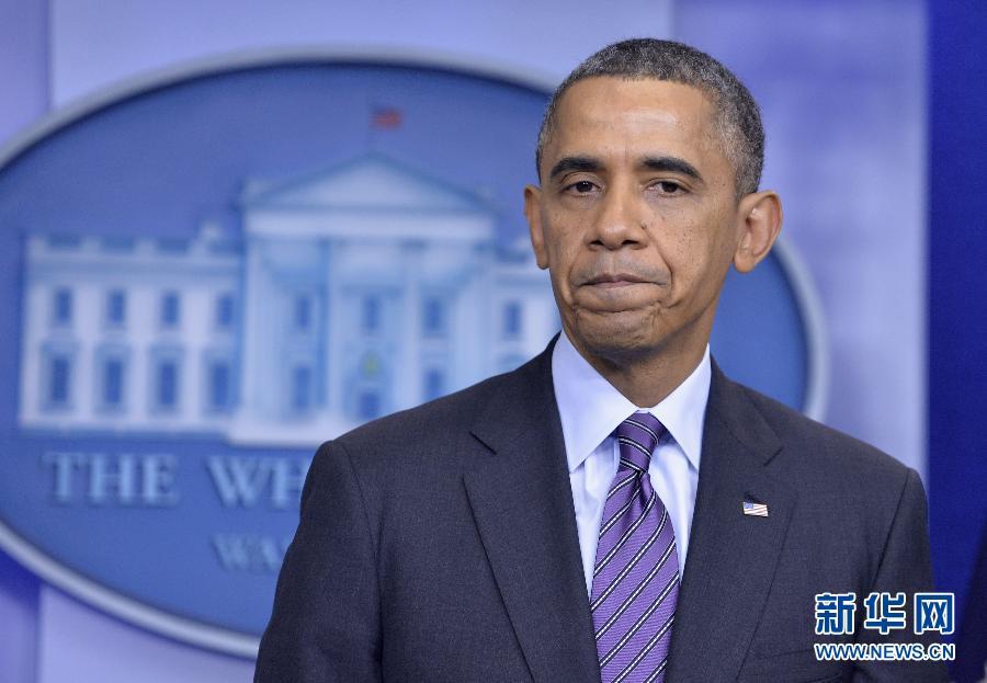 (国际)(3)奥巴马就曼德拉去世发表声明