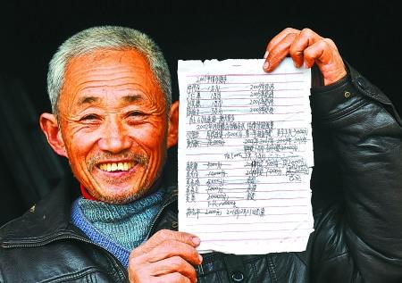 儿子因车祸去世老父靠种地10年还清近20万债务