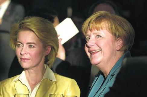 德国迎首位女性防长猜测称其或成默克尔接班人