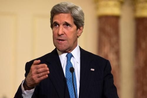 克里就伊朗核协议安抚以色列重申安全承诺(图)