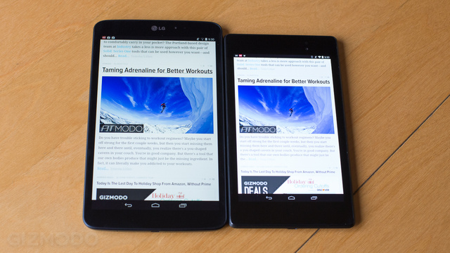 LG G Pad 8.3 Google Play Edition Review: Android\'s iPad Mini