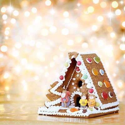 各国商家圣诞为吸引顾客各出奇招建超大姜饼屋