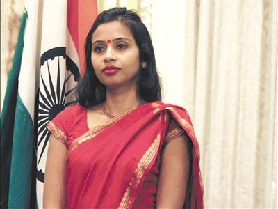 女外交官纽约受辱印度以牙还牙对美连施报复