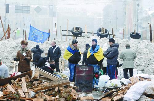 欧盟向乌克兰承诺更多援助双方将签订新协议